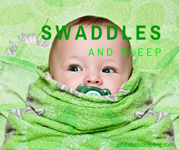 I'm asked all of the time about my stance on swaddles. Swaddling is great for newborns, but weaning an older baby from the swaddle can be difficult.