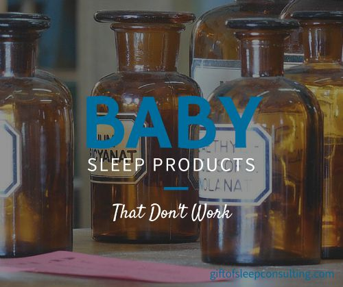 The number of baby sleep products being marketed today can be enticing, but don't fall prey to placebos and sleep aids.