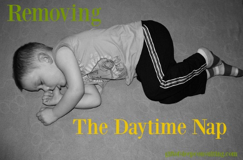 If bedtime is again becoming a battle, you may want to consider eliminating afternoon naps.