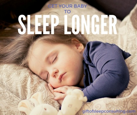 Want to get baby to sleep longer? Take a look at your baby's current sleep habits and use some of these tips to get her back on track.