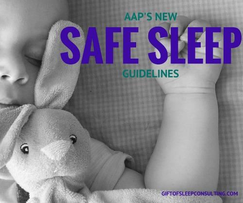 I'm discussing the American Academy of Pediatrics recently updated safe sleep guidelines, and taking a look at how those guidelines have changed over time.