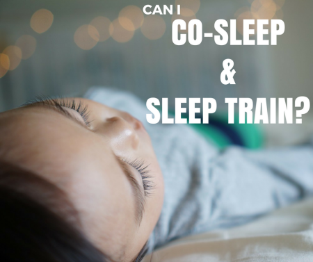 co sleep and sleep train