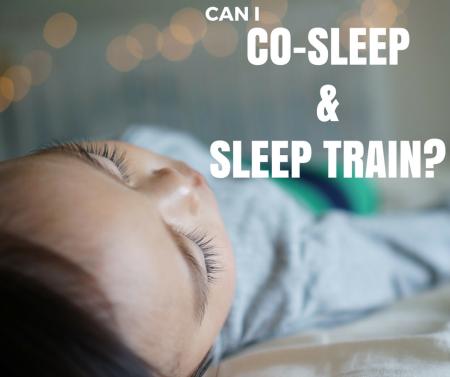 co sleep and sleep train