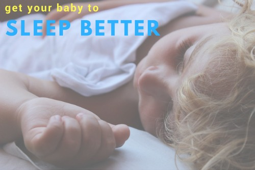 getting baby sleep better