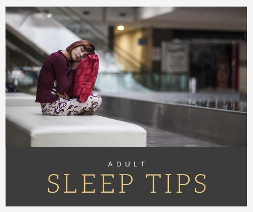 adult sleep tips